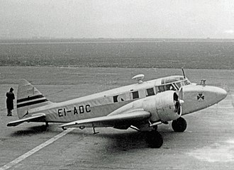 Airspeed Consul - Airspeed Consul of Aer Lingus at Liverpool in 1949