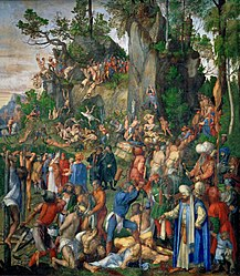 Albrecht Dürer: Martyrdom of the Ten Thousand