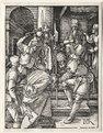 Albrecht Dürer - The Small Passion- Christ Before Annas - 1961.273 - Cleveland Museum of Art.tif