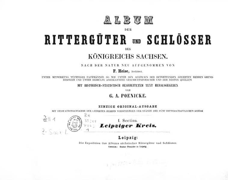 File:Album der Rittergüter und Schösser des Königreichs Sachsen I.djvu