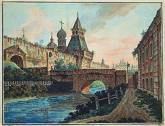 Fyodor Alekseyev - Image: Alekseev Nikolskie vorota Kitai Goroda
