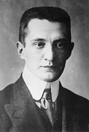 Vikzhel - Alexander Kerensky (1881-1970), head of state of the Russian Provisional Government of 1917.