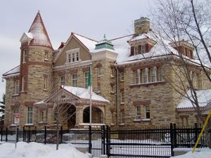 Maharishi Heaven on Earth Development - The Fleck/Paterson House, Canadian HQ of Maharishi Heaven on Earth Development Corp. in the 1990s