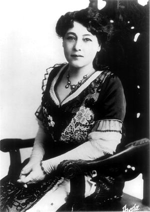 Alice Guy-Blaché - Alice Guy-Blaché in 1913