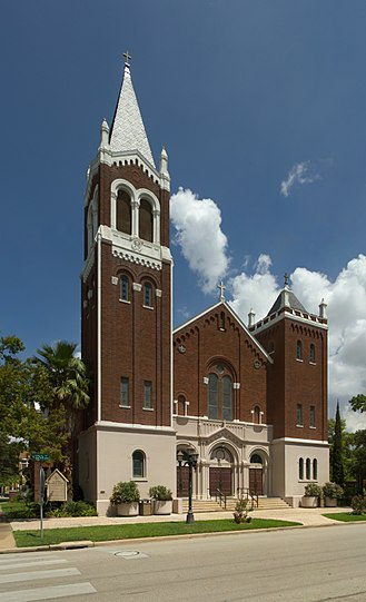 National Register of Historic Places listings in Harris County, Texas - Image: All Saints Catholic Church, Houston Jujutacular