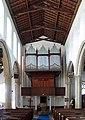 All Saints Church, Dickleburgh, Norfolk - Organ - geograph.org.uk - 814573.jpg