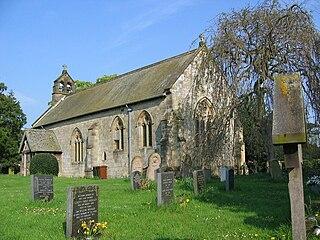 All Saints Church, Thorpe Bassett Church in North Yorkshire, England