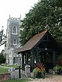 All Saints Church and Lych Gate, Brightlingsea - geograph.org.uk - 357356.jpg