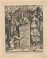 Allegorie op goed bestuur Ferdinandi I. II. III. IV. (serietitel), RP-P-1891-A-16231.jpg