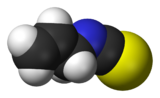 Image illustrative de l'article Isothiocyanate d'allyle