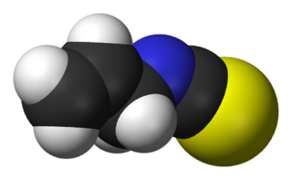 Allyl isothiocyanate chemical compound