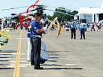 Alumni of Chung Cheng Armed Forces Preparatory School Drum Corps Front Line 20130810.jpg