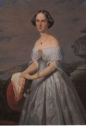Princess Amalia of Saxe-Weimar-Eisenach - Princess Amalia at a young age.