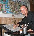 American pop artist Charles Fazzino in studio.jpg