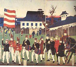 American sailors in Japan 1859