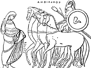 Amphiaraus - Amphiaraus on his chariot.