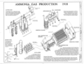 Ammonia Gas Production 1918 - United States Nitrate Plant No. 2, Reservation Road, Muscle Shoals, Muscle Shoals, Colbert County, AL HAER ALA,17-MUSHO,1- (sheet 6 of 7).png