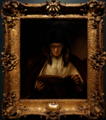 Amsterdam - Rijksmuseum - Late Rembrandt Exposition 2015 - An Old Woman Reading 1655.png