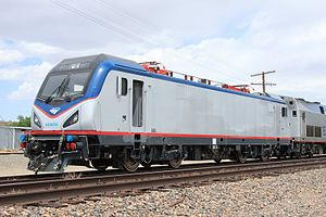 Siemens ACS-64 - Image: Amtrak ACS 64 601