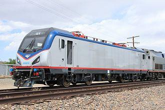 2015 Philadelphia train derailment - ACS-64 locomotive 601 led the train that derailed.