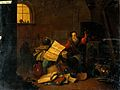 An alchemist in his laboratory. Oil painting. Wellcome V0017637.jpg