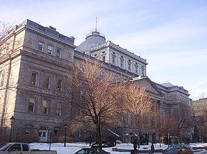 John Ostell - Image: Ancien palais de justice (Montréal)