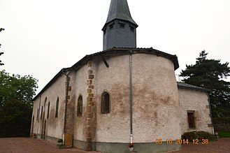 Andelaroche - Andelaroche Church