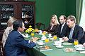 Andrejs Klementjevs tiekas ar Kirgizstānas Revīzijas palātas priekšsēdētāju (5775652091).jpg