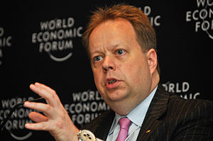 Andy Palmer - Palmer at the World Economic Forum 2009