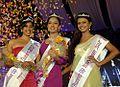 Aneesha Salma Ummer, Melissa Raju Thomas and Pavithra Menon at Navy Queen 2012.jpg
