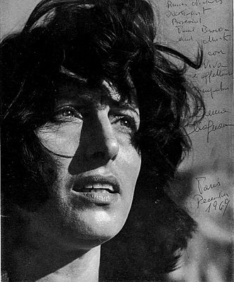 Anna Magnani - Photo signed 1969