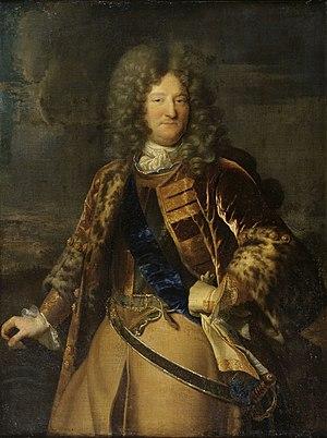 Anne Jules de Noailles - Portrait by Hyacinthe Rigaud