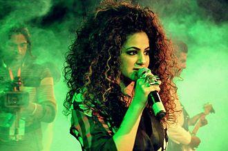 Big hair - Singer Annie Khalid