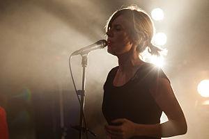 Annika Norlin - Annika Norlin performing at Mosebacke in Stockholm, Sweden, December 2012