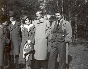 Antanas Venclova - Image: Antanas venclova and petras cvirka 1934