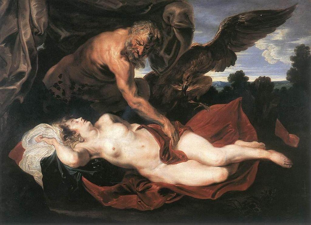 Anthony van Dyck - Jupiter and Antiope - WGA07440.jpg