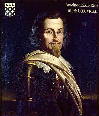 Antoine d'Estrées - Antoine d'Estrées, Marquis of Cœuvres