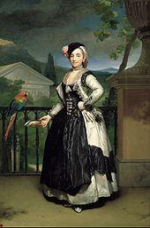 Anton Raphael Mengs: Isabel de Llano, um 1770. (Quelle: Wikimedia)
