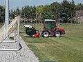 Antonio Carraro TTR 4400 traktor és Trilo C15 gyűjtőtartályos filckiszedő, 2018 Mezőkövesd.jpg