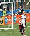 Antonio Nocerino, Sami Khedira, Luca Antonini – A.C. Milan vs. Real Madrid 2012.jpg