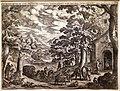 Antonio tempesta, ritorno dalla caccia, acquaforte, 1598.jpg