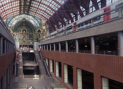 Antwerp, central station