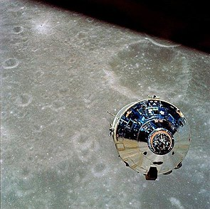 "Apollo 10 komentomoduuli ""Charlie Brown""."