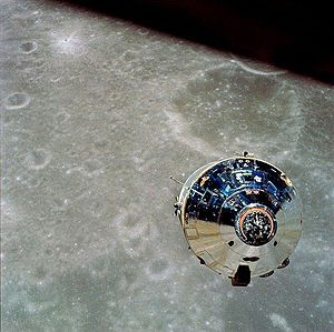 Charlie Brown - The Command Module of Apollo 10, which was named after Charlie Brown.