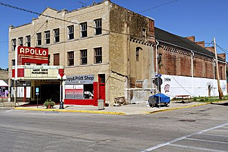 Princeton, Illinois - The Apollo Theatre
