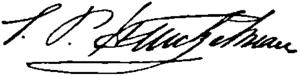 Samuel P. Heintzelman - Image: Appletons' Heintzelman Samuel Peter signature