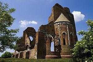 Hungarians in Serbia - Ruins of Arača church.