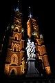 Archikatedra św. Jana Chrzciciela we Wrocławiu w nocnej iluminacji.jpg