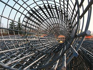 Rebar (for reinforced concrete) Italiano: Arma...