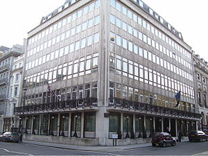 Army and Navy Club - The Army and Navy Club as its headquarters has been since their reconstruction in the 1960s.